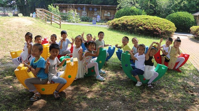 南渡中心幼儿园大班组拍摄创意毕业照|溧阳山水网